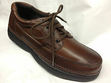 Nunn Bush Cameron Casual Shoes Mens Brown Tumble WIDE