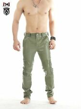 SQUEEZE.DOG Latex Gummi Rubber Military Army Casual Cargo Pants