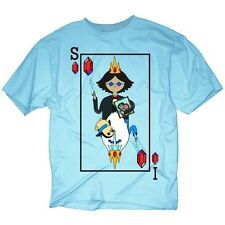 Adventure Time Ice King Simon Card T-Shirt. Free U.S. Shipping!
