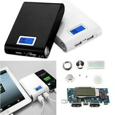 DIY Kit 2USB 5V 1A 2.1A Power Bank 18650 Battery Charger Box For iPhone 5 5S HTC