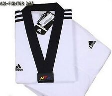 Adidas ADI-FIGHTER NEW 3-STRIPE Taekwondo Uniform (Dobok) Tae Kwon Do TKD