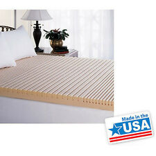 Simmons Beautyrest Geo-Matt Foam Topper Therapeutic mattress Pad bed bedding NEW