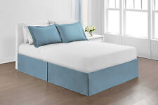 """Hawthorne Microfiber Bedskirt Drop14""""- Assorted Colors from purluxehome.com"""