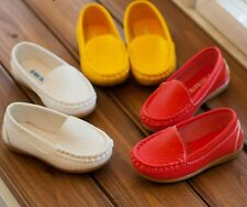 New Fashion Cute Suede Solid Girls Boys Shoes Children PU Leather Kids Shoes I02