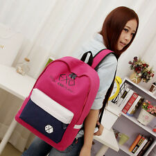 CHIC Cosie EXO DO LAY KAI CANVAS BAG SCHOOLBAG BACKPACK KPOP FREE SHIPPING AU AT