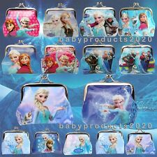 Christmas Gift Elsa Anna Frozen Girls Coins Boxes Money Pouch Bag Purse Wallet