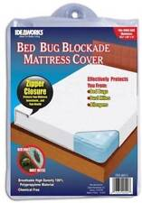 Ideaworks Bed Bug Twin Full Queen King Blockade Mattress Dust Mite Allergy Cover