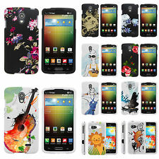 LG Phone Models Rubberized Slim Image Custom Fitted Hard Snap On Case Cover