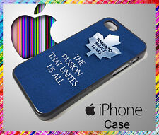 iPhone 4 / 4S or iPhone 5 / 5S Case TORONTO MAPLE LEAFS Football Apple Phone NEW