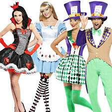 Wonderland Fairytale Adult Fancy Dress Book Character Mens Ladies Costume Outfit