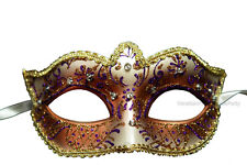 Gold Masquerade Mask Venetian Classic Costume Prom Party Masquerade Ball Mask