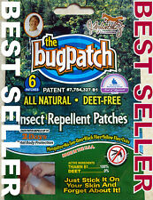 BUG PATCH 1 WK. 2 WK, 3 WK OR 4 WK. BEST BUY MOSQUITO & INSECT REPELLENT PATCH