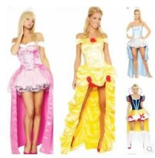 FP129 Cosplay Costume women Halloween sleeping beauty snow white Princess dress