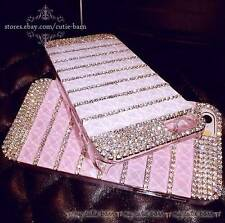 Hot Luxury Crystal Bling Rhinestone Case Cover for  iPhone Samsung Galaxy Phone