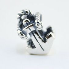Sterling Silver 925 European Charm Boat Anchor Bead 88094