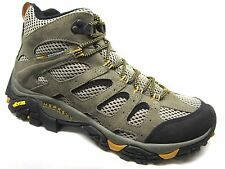 Merrell Moab Ventilator Mid Hiking Boot Mens WIDE WIDTH Walnut