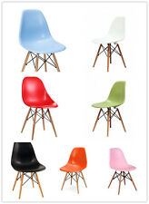 New Adult Charles Eames Eiffel Retro DSW Wooden base Dining Chairs in 7 colors