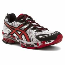 Mens Asics Gel Sendai Running Sneakers New, White Red Blk T31DQ-0123