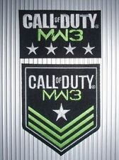 RARE CALL OF DUTY MODERN WARFARE 3 - IRON ON PATCHES - PS4, WII, X_BOX, PS3