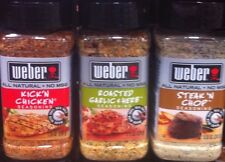 Weber Seasonings spices