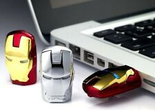 unique iron man model USB Disk Enough Memory Stick Flash U Drive 8G 16G 32G 64G