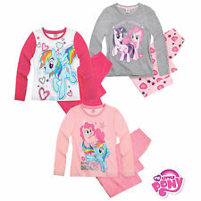 My Little Pony Long Sleeve Pyjamas New Official Girls Kids