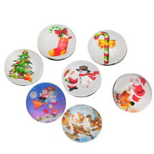 Wholesale Lots Snap Buttons Fit DIY Press Bracelets Christmas Theme Mixed 18mm