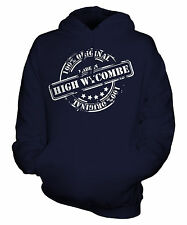 MADE IN HIGH WYCOMBE UNISEX ADULT HOODIE MENS WOMENS LADIES FUNNY BRAND NEW