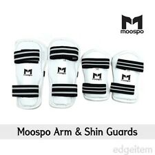 Moospo Arm & Shin Guards Taekwondo Arm and Leg protector Karate Hapkido