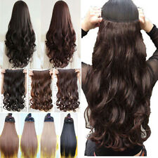 """USA CLEARANCE SALE! 17-27"""" Clip In Hair Extensions half Full Head Real Cheap"""