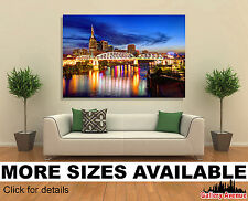 Wall Art Canvas Picture Print - Skyline of Downtown Nashville Tennessee