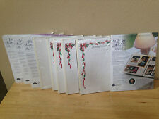Creative Memories 8x10 refill pages & page protectors