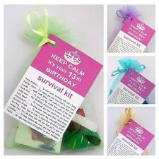 13th 16th 18th 21st BIRTHDAY PRESENT SURVIVAL KIT PERSONALISED FUN NOVELTY GIFT