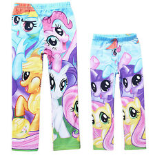 New My Little Pony 5Y-10Y Kids Girls Leggings Tights Pants Spring Autumn Wear