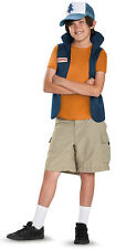 Child Disney Channel Cartoon TV Show Gravity Falls Dipper Pines Classic Costume