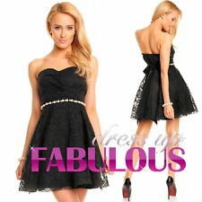 SEXY FORMAL GOWN PARTY DRESS COCKTAIL CHRISTMAS OCCASION Size 4 6 8 10 12 S M L