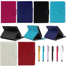 "Universal Folio PU Leather Stand Case Cover For 8"" 8 Inch Tab Android Tablet PC"