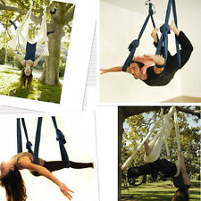 Flying Hammock Inversion Swing Trapeze Anti-Gravity Aerial Pilates Yoga Fitness