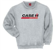 CASE IH LOGO Agriculture International Harvester Tractor Farmer Mens Sweatshirt