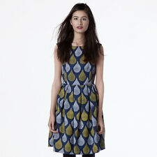 Dear Creatures Women's Navy Harper 60s Mod Retro Dress ModCloth Style