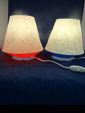 IKEA Table Lamp Desk  Light Living Room Bedroom Red or  Blue  LATER NEW