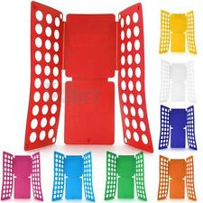Magic Fast Clothes T-Shirts Folding Folder Board for Adult Sky blue/red/purple