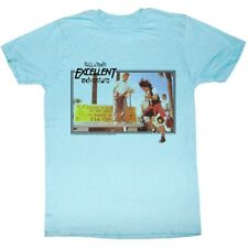 Bill&Ted's Excellent Adventure SciFi Comedy Movie Air Guitar Adult T-Shirt