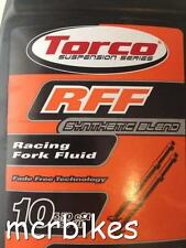 TORCO RFF SYNTHETIC FORK FLUID SHOCK OIL FORK FLUID / RED RUM CHOICE OF WEIGHTS