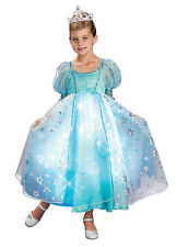 Child Light-Up Blue Twinkle Princess Dress Costume by Rubies 883945