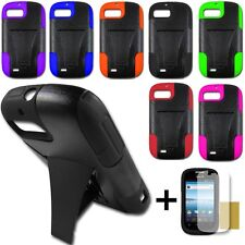 Lantean Hybrid Armor Phone T-Stand Case for ZTE Fury N850 Valet Z665C Director
