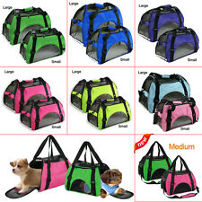 Pet Carrier Soft Sided Cat/Dog Comfort Travel Tote Bag Airline Approved HOT N