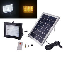 Solar power 60led outdoor Flood light With Remote Control ,Garden landscape Lamp