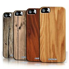 STUFF4 Back Case/Cover/Skin for Apple iPhone 5/5S/Wood Grain Effect/Pattern