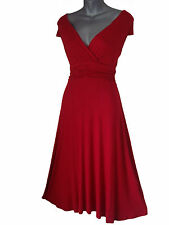 RED EVENING / PARTY / COCKTAIL / FORMAL DRESS SIZE 8 10 12 14 16 18 20 22